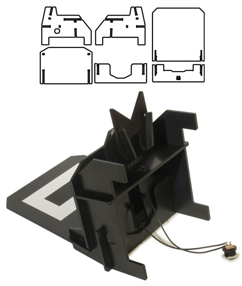 Oculus Prime Kit Assembly Charging Dock