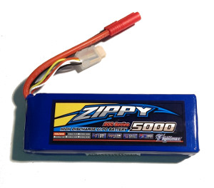 Zippy LiPo Battery 3S 5000mAh