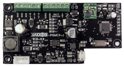 Xaxxon POWER v2 battery charging and power management PCB